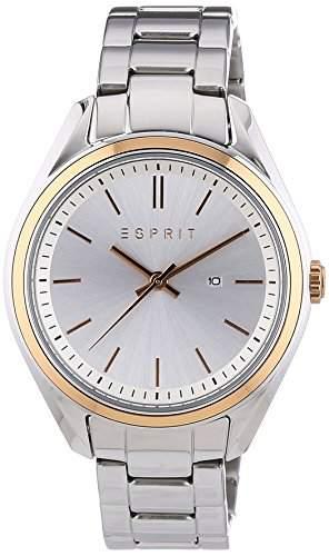Esprit Damen-Armbanduhr Ivonne Analog Quarz Edelstahl ES107832002