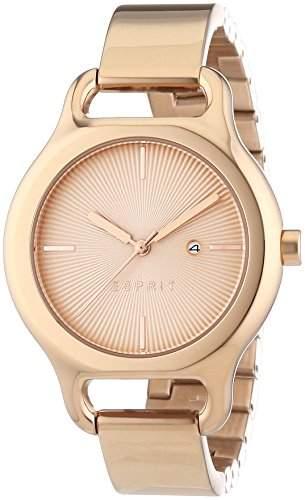 Esprit Damen-Armbanduhr Naomi Analog Quarz Edelstahl beschichtet ES107932003