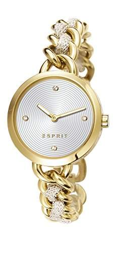 Lily WomenEsprit Damen Armbanduhr Analog Edelstahl Gold ES107952002 Armband