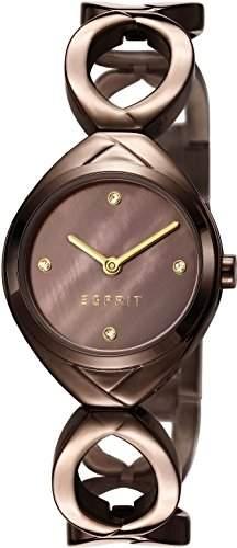 Esprit Damen-Armbanduhr Audrey Analog Quarz Edelstahl ES108072004