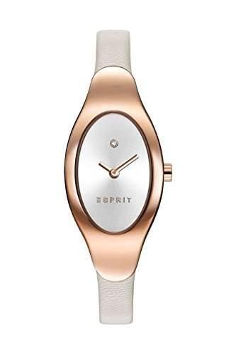 Esprit ES108662003 esprit-tp10866 cream Uhr Damenuhr Lederarmband vergoldet 30m Analog beige