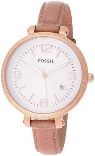 Fossil Damen-Armbanduhr Analog Leder ES3133