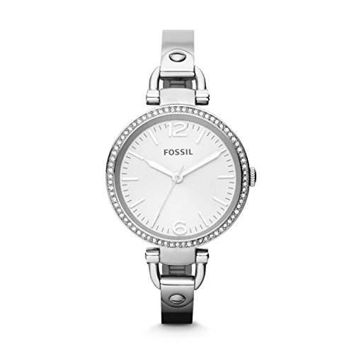 Fossil Damen-Armbanduhr Analog Quarz Edelstahl ES3225