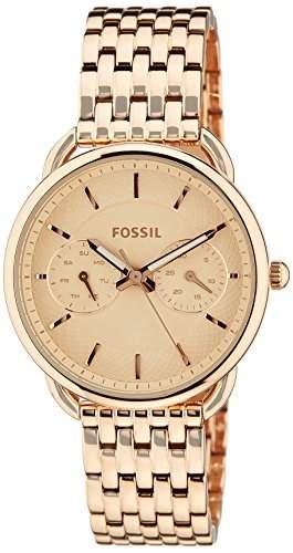 Uhr Fossil Tailor Es3713 Damen Rose Gold