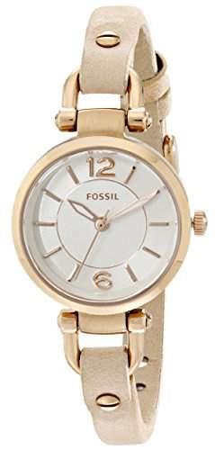 Uhr Fossil Georgia Es3745 Damen Weiss