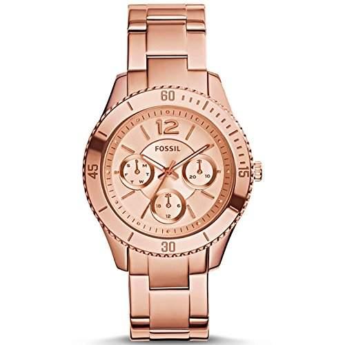Uhr Fossil Stella Es3815 Damen Rose Gold