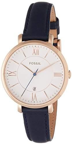 Uhr Fossil Jacqueline Es3843 Damen Weiss