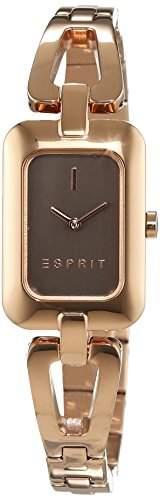 Esprit Damen-Armbanduhr ES-NARELLE ROSE GOLD Analog Quarz Edelstahl ES108512003