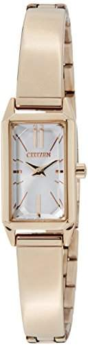 Citizen Damen-Armbanduhr Analog Quarz Edelstahl EZ6323-56A