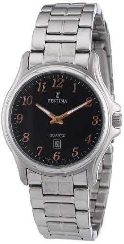Festina Damen-Armbanduhr XS Klassik Analog Edelstahl F164746