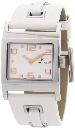 Festina Damen-Armbanduhr XS Trend Lady Analog Leder F164754