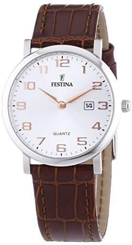 Festina Damen-Armbanduhr XS Klassik Analog Leder F164772