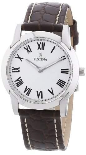 Festina Damen-Armbanduhr XS Klassik Analog Leder F165074