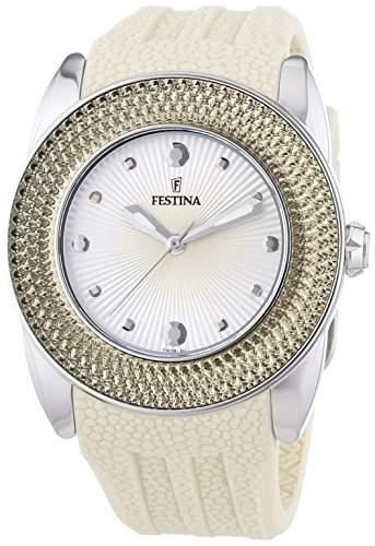 Festina Damen-Armbanduhr Analog Quarz Kautschuk F165912
