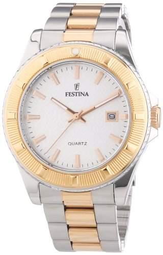Festina Unisex-Armbanduhr Trend Analog Quarz Edelstahl beschichtet F166851