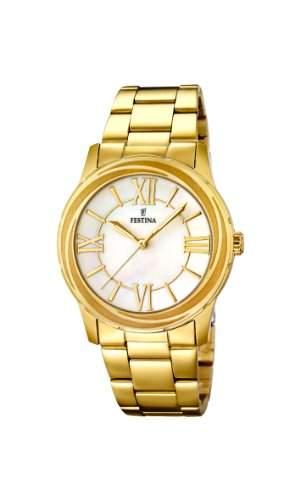 Festina Damen-Armbanduhr Analog Quarz Edelstahl F167241