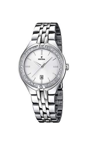 Festina Damen-Armbanduhr Analog Quarz Edelstahl F168671