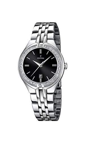 Festina Damen-Armbanduhr Analog Quarz Edelstahl F168672