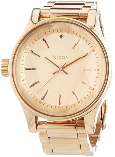 Nixon Damen-Armbanduhr Facet All Rose Gold Analog Quarz Edelstahl A384897-00