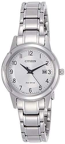 Citizen Damen-Armbanduhr Analog Quarz Edelstahl FE1081-59B