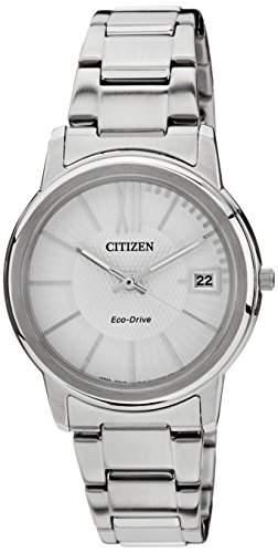 Citizen Damen-Armbanduhr Analog Quarz Edelstahl FE6010-50A