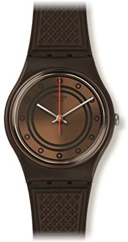 Swatch Unisex-Armbanduhr Analog Quarz Silikon GC114
