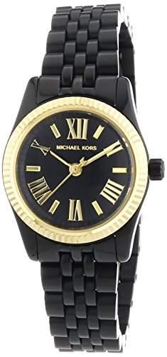 Michael Kors Damen-Armbanduhr XS Analog Quarz Edelstahl beschichtet MK3299