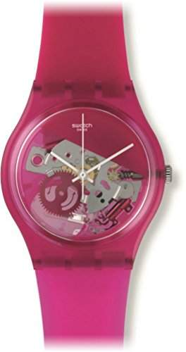 Swatch Damen-Armbanduhr Analog Quarz Silikon GP146