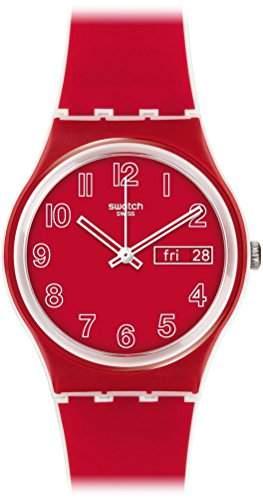 Swatch Unisex-Armbanduhr Analog Quarz Silikon GW705