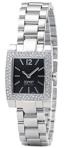 Esprit Damen-Armbanduhr Hemera Analog Quarz Edelstahl EL900412005