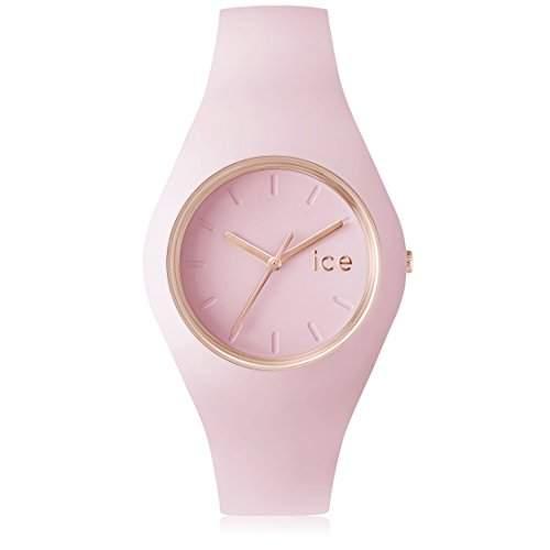 Ice-Watch Unisex - Armbanduhr Glam Pastel Analog Quarz Silikon ICEGLPLUS14