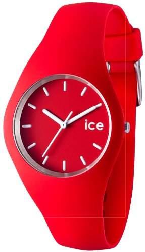 Ice-Watch Damen-Armbanduhr Ice-Slim rot ICERDUS12