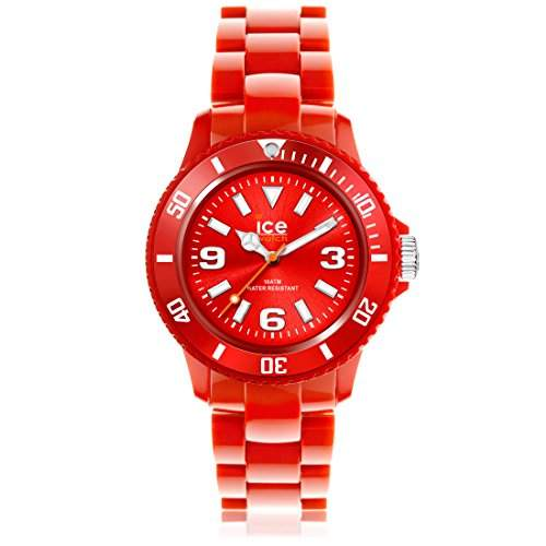 Ice-Watch Unisex-Armbanduhr ice-Solid Rot Analog Quarz SDRDUP12