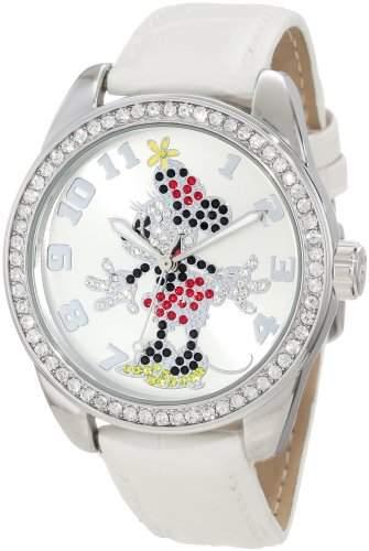 Disney by Ingersoll Damen-Armbanduhr Analog Formgehaeuse Silber 25741