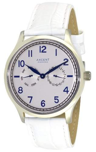 Axcent Damen-Armbanduhr Teacher Analog Quarz Leder IX13833-111