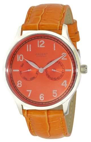 Axcent Damen-Armbanduhr Teacher Analog Quarz Leder IX13833-818