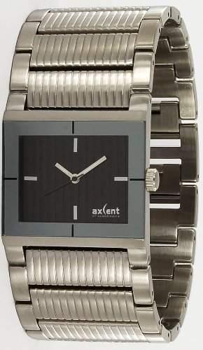 Axcent Damen-Armbanduhr Brace Analog Quarz Edelstahl IX47094-232