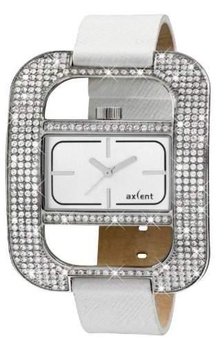 Axcent Damen-Armbanduhr Eccentric Analog Quarz Leder IX59984-631