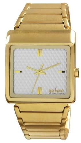 Axcent of Scandinavia-IX62858-132-Harriet Damen-Armbanduhr 045J699Analog weiss Armband Stahl Gold