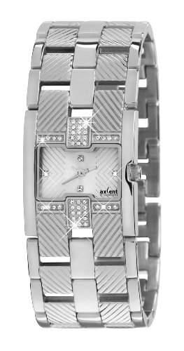 Axcent of Scandinavia-IX65124-642-Fahrgeschaeft Damen-Armbanduhr 045J699Analog silber Armband Stahl Silber