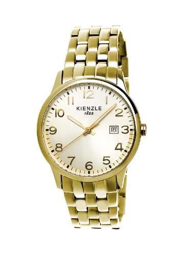 Kienzle Damen-Armbanduhr XS KIENZLE CORE Analog Quarz Edelstahlarmband beschichtet K3042029232-00368
