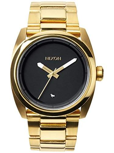 Nixon Damen-Armbanduhr Kingpin Analog Quarz Edelstahl A507513-00