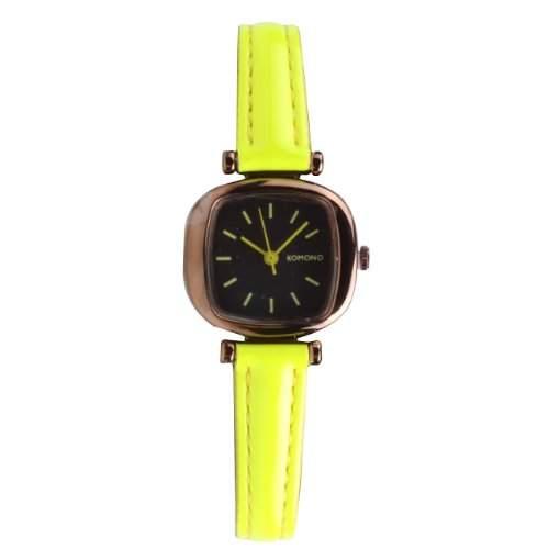 Komono Moneypenny Watch Dayglow Yellow