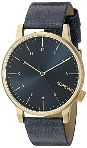 Komono Winston Regal Uhr Blau KOM-W2251