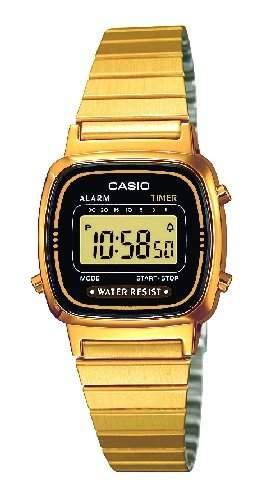 Casio Damen-Armbanduhr Casio Collection LA670WEGA-1EF