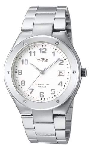 Casio Damen-Armbanduhr Analog Quarz Textil LIN-164-7AVEF