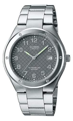 Casio Damen-Armbanduhr Analog Quarz Titan LIN-164-8AVEF