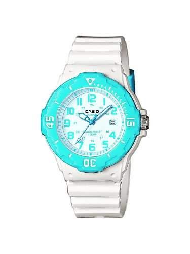 Casio Damen-Armbanduhr Analog Quarz Plastik LRW-200H-2BVEF