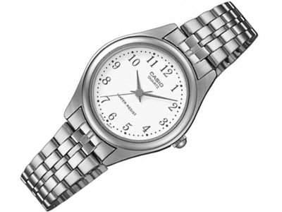 Casio Damen-Armbanduhr Classic Analog Quarz Edelstahl LTP-1129PA-7BEF