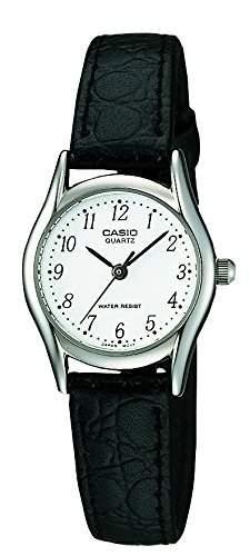 Casio Damen-Armbanduhr Classic Analog Quarz Leder LTP-1154PE-7BEF